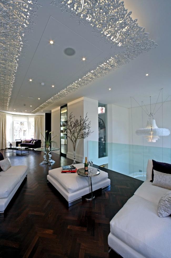 Modern tavan tasar m trio asma tavan sistemleri for New trends in homebuilding
