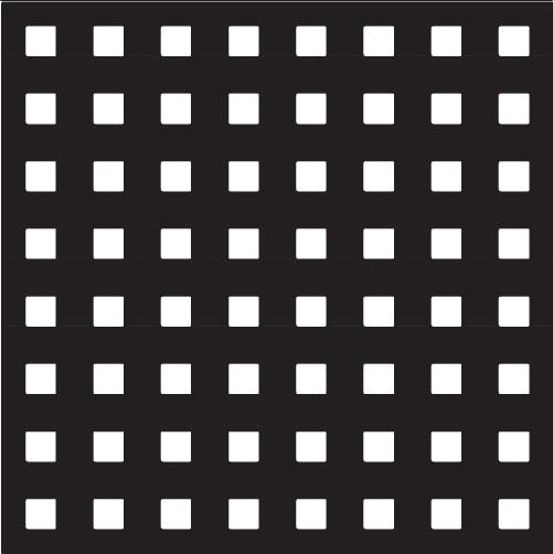 square-perforation